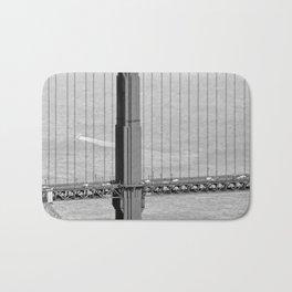 """""""Golden Gate #14"""" by Murray Bolesta Bath Mat"""