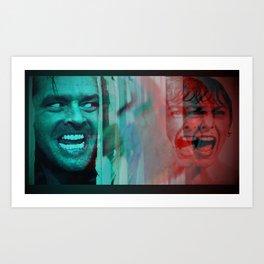 Psyining Art Print