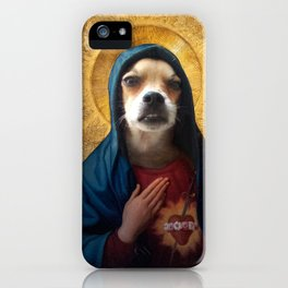 The Hairy Virgin iPhone Case