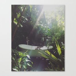 post tropical Canvas Print