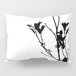 Botanical Contrast Pillow Sham