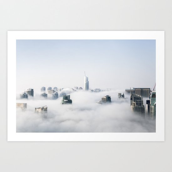 Next Stop, Cloud City Art Print