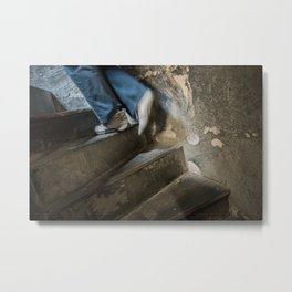 Finding Light Metal Print