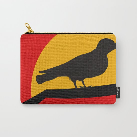 Every bird sings from his own throat Carry-All Pouch