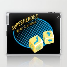 Super-Heroes-Name-Generator Laptop & iPad Skin