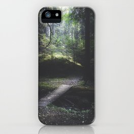 The road back is always the hardest iPhone Case