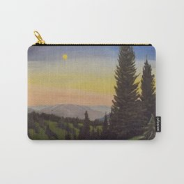 Moonlit Mountain Carry-All Pouch