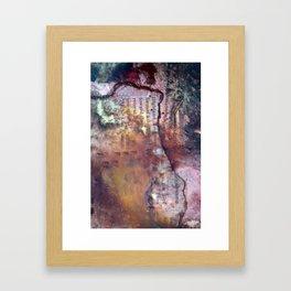 qwed Framed Art Print