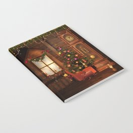 Old Christmas Room Notebook