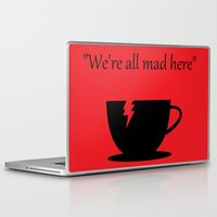 mad Laptop & iPad Skins featuring Mad by Crystal Granlund