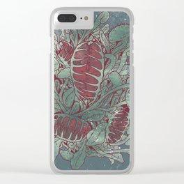Venus Flytrap Clear iPhone Case