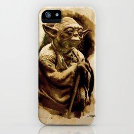 Grand Master Yoda iPhone Case