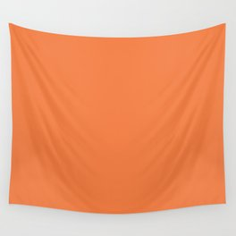 Celosia Orange Wall Tapestry