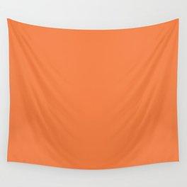 Celosia Orange Wall Tapestry