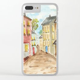 Side Street Clear iPhone Case