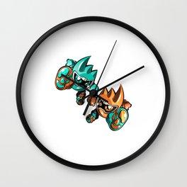Kamen Rider Ex-Aid Mighty Brothers Wall Clock