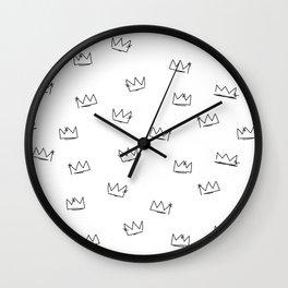 Crowns Reverse Wall Clock