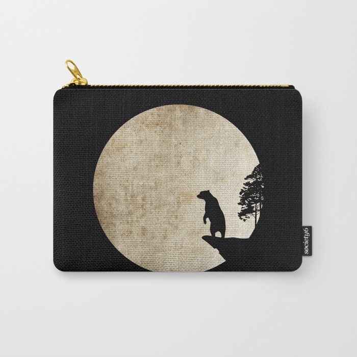 Bear Night Carry-All Pouch