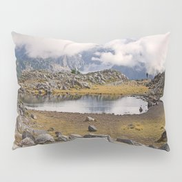 BLUE AND GOLD MOUNTAIN SOLITUDE Pillow Sham