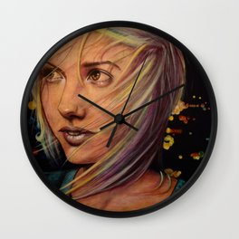 Wind Speaks While the City Sleeps (VIDEO IN DESCRIPTION!) Wall Clock