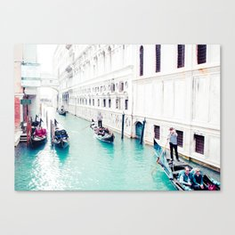 Venice Aqua I Fine Art Print Canvas Print