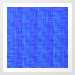 Interpretive Weaving (Nightfall) Art Print