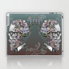 hipster floral skull 3 Laptop & iPad Skin