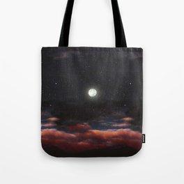 Dawn's moon Tote Bag