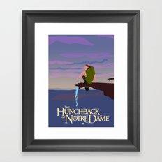 Hunchback of Notre Dame Framed Art Print