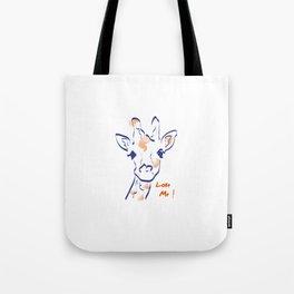 Girafe-Love me Tote Bag