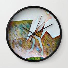 Harsehead Nebula Wall Clock