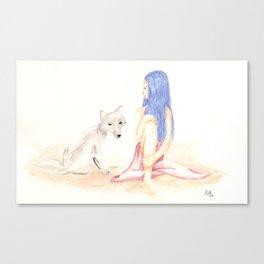 Kept Secrets Canvas Print