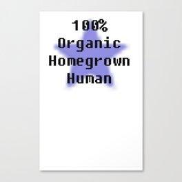100% Genuine Canvas Print