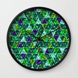Bright glitter pattern. 2 Wall Clock