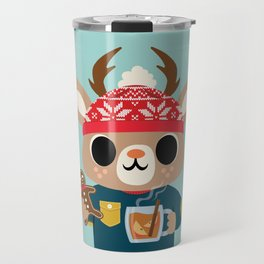 Deer in a Sweater Travel Mug
