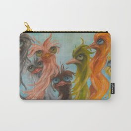 Group of 8 on Blue Carry-All Pouch