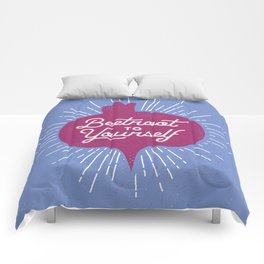 Beetroot to Yourself Comforters