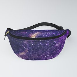 Ultra violet purple abstract galaxy Fanny Pack