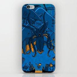 Falling (Deep Sea) iPhone Skin
