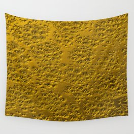 Damaged gold Wall Tapestry