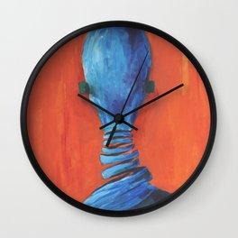 Nobody Wall Clock