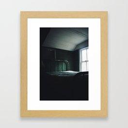 Abandoned Room Of Kerr City Framed Art Print