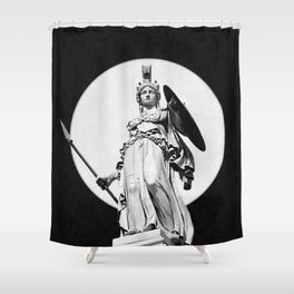 Goddess Athena Shower Curtain