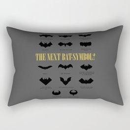 The Next Bat-Symbol? Rectangular Pillow