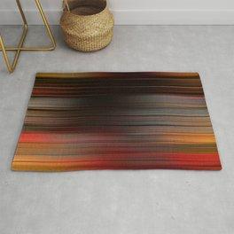 """Abstract Autumn Porstroke (Pattern)"" Rug"