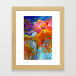 September Ink Framed Art Print