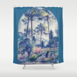 "Henri-Edmond Cross ""Le Jardin en Provence"" Shower Curtain"