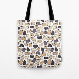 Pug Life Doodle Tote Bag