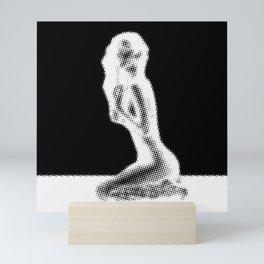 Kneeling Mini Art Print