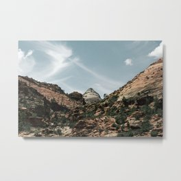 Paradise In Zion Metal Print